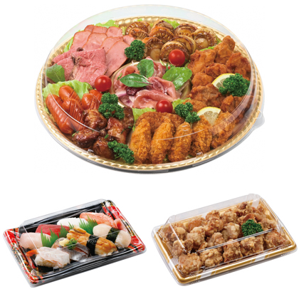惣菜・寿司・オードブル 容器